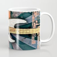 bass Mugs featuring Elvis' Bass by ADH Graphic Design