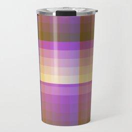 Complimentary Color Harmony ..Yellow /purple Travel Mug