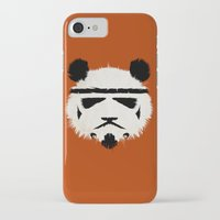trooper iPhone & iPod Cases featuring Panda Trooper by Danny Haas