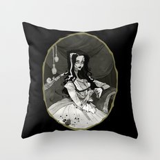 Bride of the Monster Throw Pillow