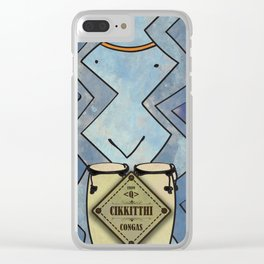 Cikkitthi from < Q > (Congas) Clear iPhone Case