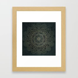 Circular Connections Framed Art Print