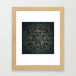 Circular Connections Framed Art Print
