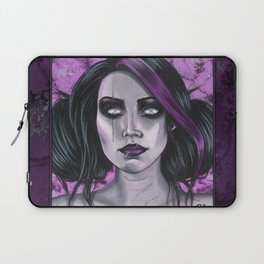Scars Gothic Ghoul Portrait Laptop Sleeve