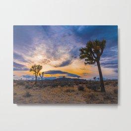 Joshua Tree Sunset Metal Print