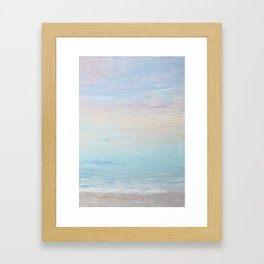 Subtle Sunrise Framed Art Print