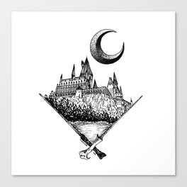 The wizards castle Canvas Print