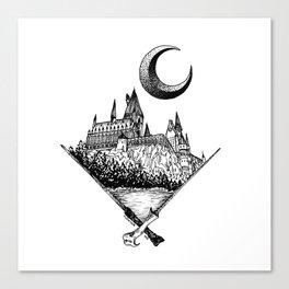 The wizards castle Canvas Print