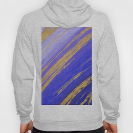 Colored Brush with Gold Foil 10 Hoody