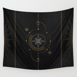 Tarot geometric #3: North star Wall Tapestry