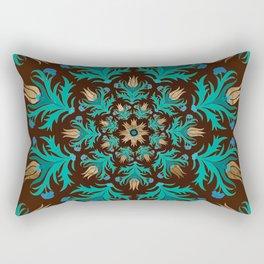 Turkish tulip - Ottoman tile 17 Rectangular Pillow