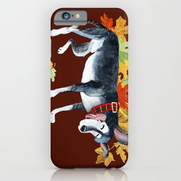 September Angel iPhone Case