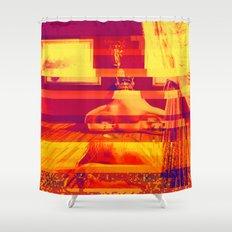 Figueres, Spain | Project L0̷SS   Shower Curtain