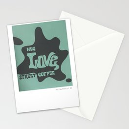 Love Street Coffee NYC Stationery Cards