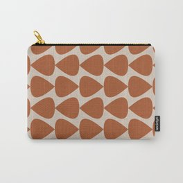 Plectrum Pattern in Clay and Putty  Carry-All Pouch