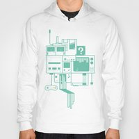 video games Hoodies featuring Video Games by Isra