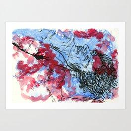 Just Beneath the Surface Art Print