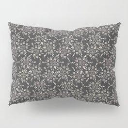 Gray Lace Pillow Sham