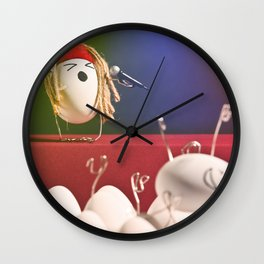 Egg Rock Concert Wall Clock