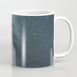 Starry sky with millions of stars, Milky Way galaxy Coffee Mug