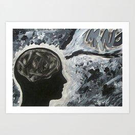 Mind Art Print
