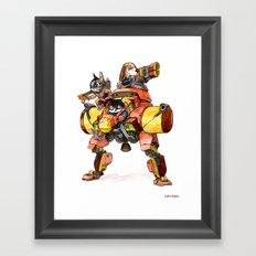 The Light Assault Walker Framed Art Print