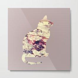 Chilled Cat Metal Print