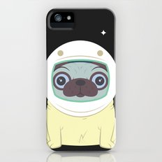 Pug in Space Slim Case iPhone (5, 5s)