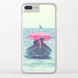 Thai Longtail Clear iPhone Case
