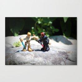 Action Figures Canvas Print