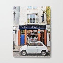 Notting hill car Metal Print