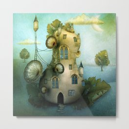 Moon Fairytale VII Metal Print