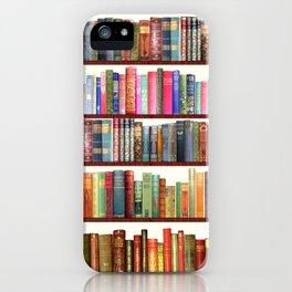 Jane Austen Vintage Book collection iPhone Case