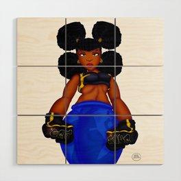 Tough Girl Wood Wall Art