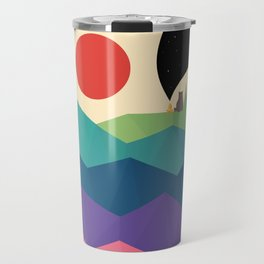 Over The Rainbow Travel Mug