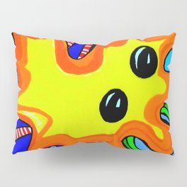 Microbes' eyes Pillow Sham