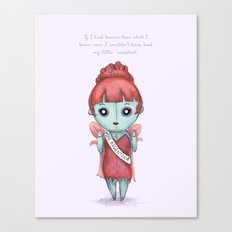My Little Accident  Canvas Print