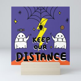 Keep our distance Mini Art Print