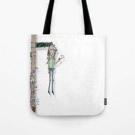 woodward. Tote Bag