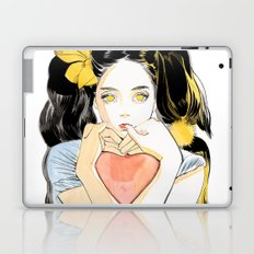 Yellow Ribbon Laptop & iPad Skin