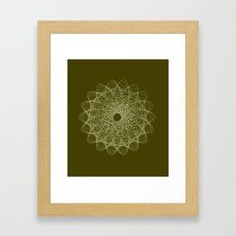 Guilloche #1 Framed Art Print