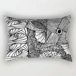 Design Panel I Rectangular Pillow