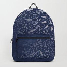 Indigo Mystique Mandala Backpack