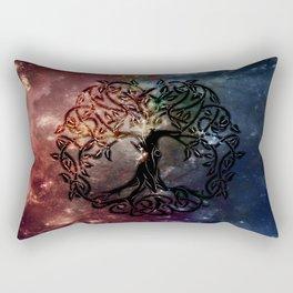 Viking Tree of life Rectangular Pillow