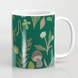 Emerald Flora Coffee Mug