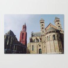 Colorful  Churches Canvas Print