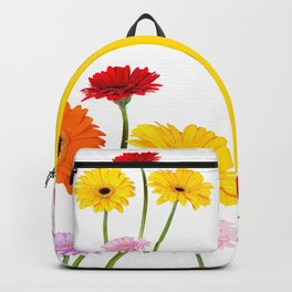 Colorful gerbera daisies Backpack