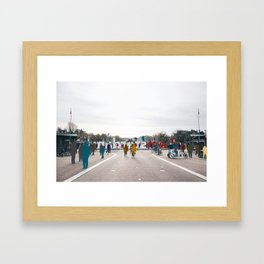 Sometimes People Annoy me Feat. IAMSTERDAM Framed Art Print