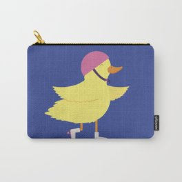 Duck on Roller Skates Carry-All Pouch