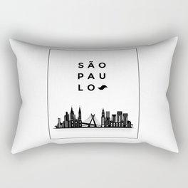 Sao Paulo Rectangular Pillow